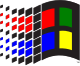 Microsoft Windows logo (Pre-XP).svg