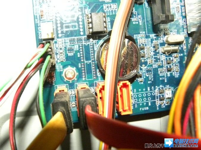 台式主板电源接线安装教程图解