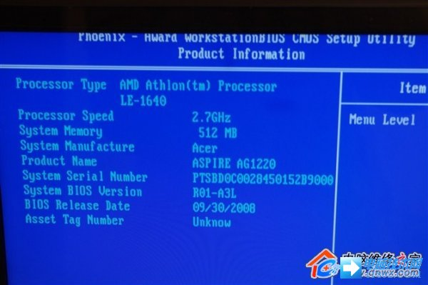 CPU内核虚焊的维修方法图解