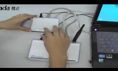 腾达tenda无线路由器安装设置视频教程