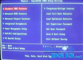 进BIOS中禁用软盘的方法