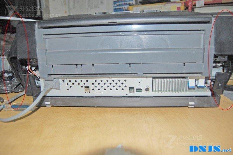 爱普生1400打印机进纸传感器清洁教程
