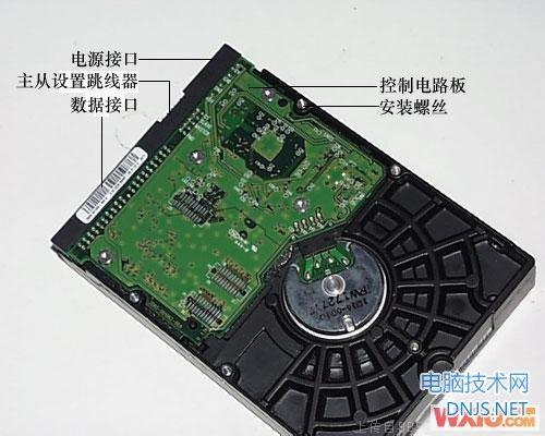 机械硬盘内部构造图解