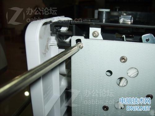 三星scx-4200一体机更换搓纸轮 图文详解图片26