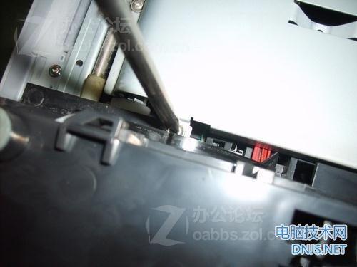 三星scx-4200一体机更换搓纸轮 图文详解图片18