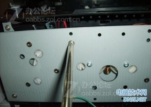 三星scx-4200一体机更换搓纸轮 图文详解图片25