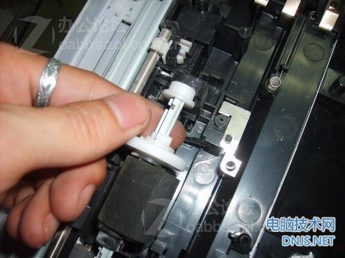 三星scx-4200一体机更换搓纸轮 图文详解图片36