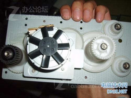 三星scx-4200一体机更换搓纸轮 图文详解图片31