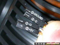 ��X�C箱前置USB面板�B接�D